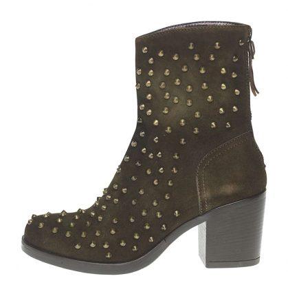 Stivaletti tacco medio Fornarina scarpe autunno inverno 2015