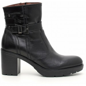 Stivaletti tacco medio Nero Giardini scarpe autunno inverno 2015