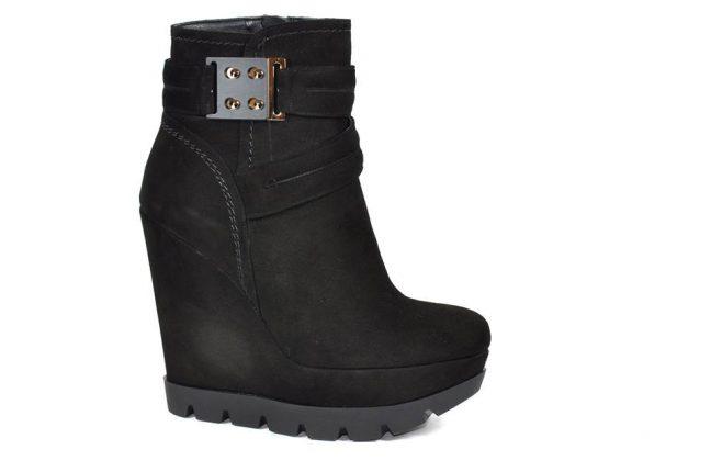 Stivaletti zeppa Albano scarpe autunno inverno 2015