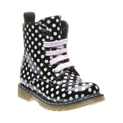 Stivaletto a pois Bata scarpe autunno inverno 2015