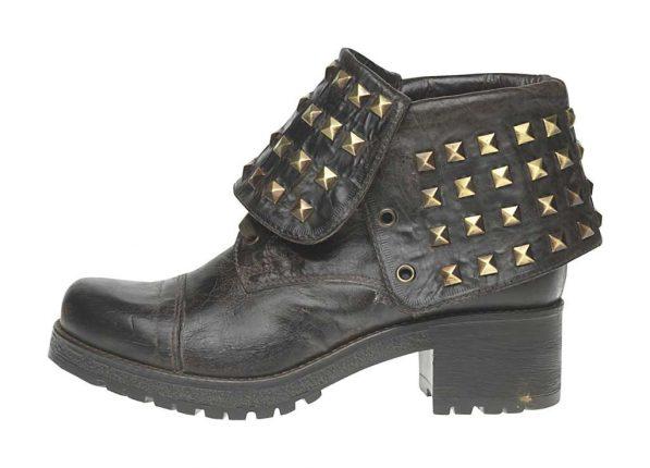 Stivaletto borchie Fornarina scarpe autunno inverno 2015