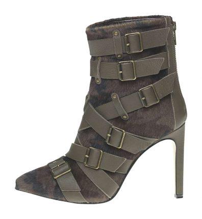 Stivaletto con fibbie Fornarina scarpe autunno inverno 2015