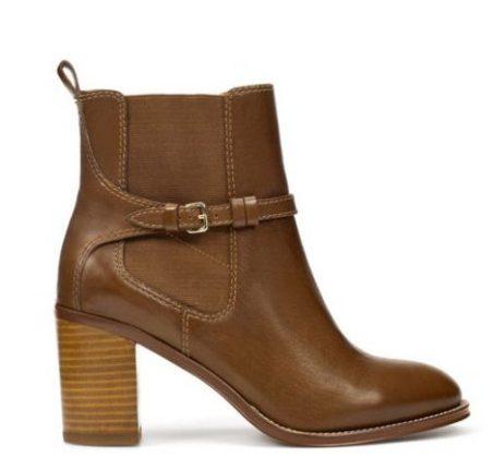 Stivaletto con tacco Zara scarpe autunno inverno 2015