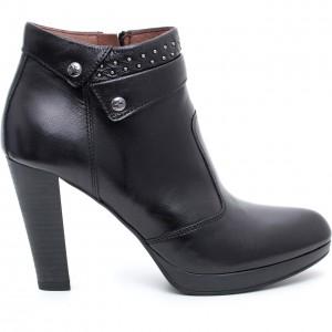 Stivaletto Nero Giardini scarpe autunno inverno 2015
