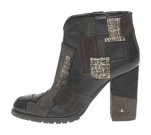 Stivaletto quadri Fornarina scarpe autunno inverno 2015