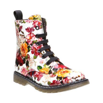 Stivaletto stampa floreale Bata scarpe autunno inverno 2015