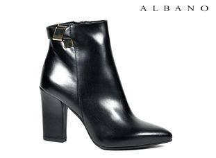 Stivaletto tacco largo Albano scarpe autunno inverno 2015