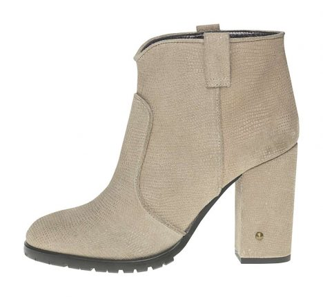 Stivaletto tacco largo Fornarina scarpe autunno inverno 2015