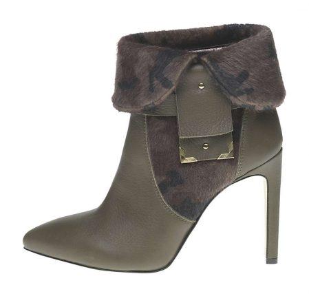 Stivaletto tacco spillo Fornarina scarpe autunno inverno 2015