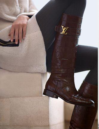 Stivali al ginochio Louis Vuitton inverno 2013 2014