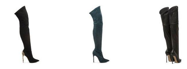 Stivali alti Casadei scarpe autunno inverno 2015