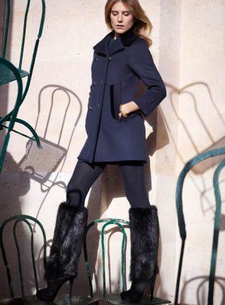 Stivali con pelliccia Louis Vuitton autunno inverno 2013 2014