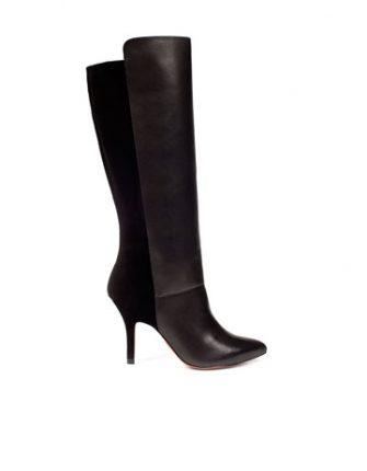 Stivali con tacco alto Zara scarpe autunno inverno 2015