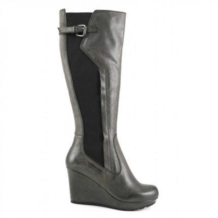 Stivali con zeppa Cafè Noir scarpe autunno inverno 2015