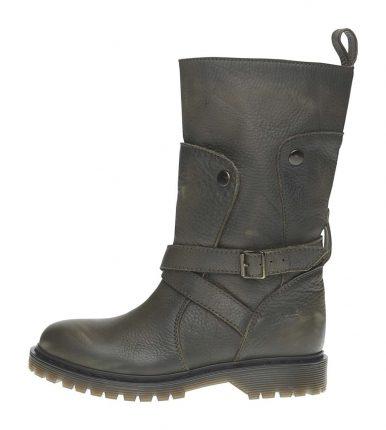 Stivali in pelle Fornarina scarpe autunno inverno 2015