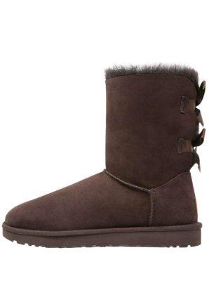 Stivali marroni con fiocchi Ugg inverno 2017