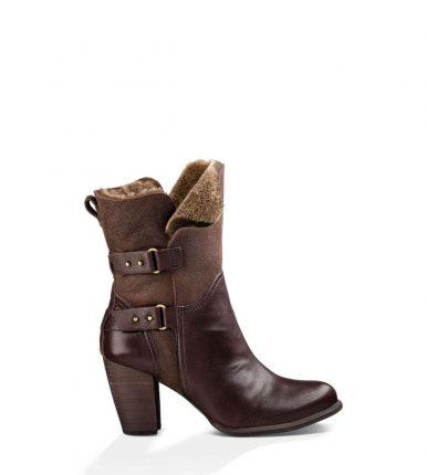 Stivali marroni con tacco Ugg inverno 2017