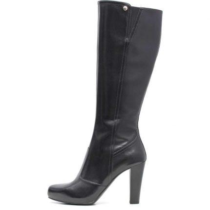 Stivali neri con tacco Nero Giardini