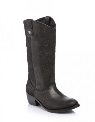 Stivali texani testa di moro Guess scarpe autunno inverno 2015