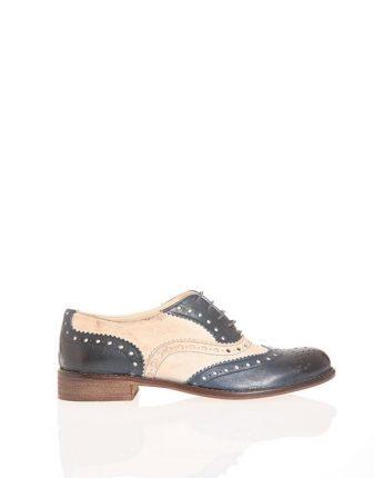 Stringata maschile bicolor Pittarello scarpe autunno inverno