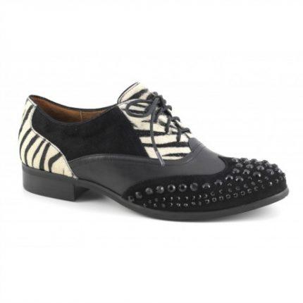 Stringate borchie Cafè Noir scarpe autunno inverno 2015