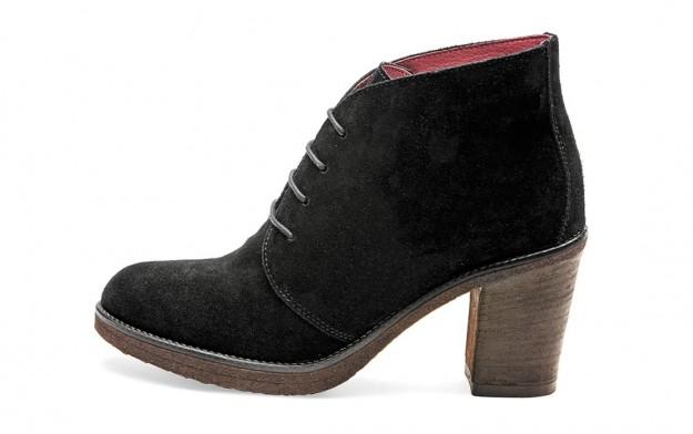Stringate nere Frau scarpe autunno inverno 2014 2015