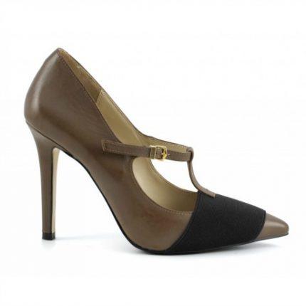 T-bar marroni Cafè Noir scarpe autunno inverno 2015