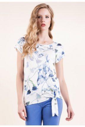 T-shirt in jersey stampato Luisa Spagnoli primavera estate