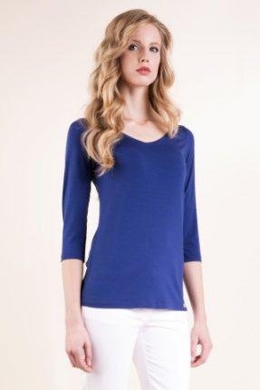 T-shirt in jersey viscosa stretch Luisa Spagnoli primavera estate