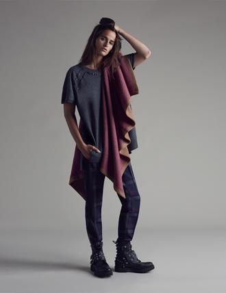 T-shirt lunga Pinko autunno inverno 2015