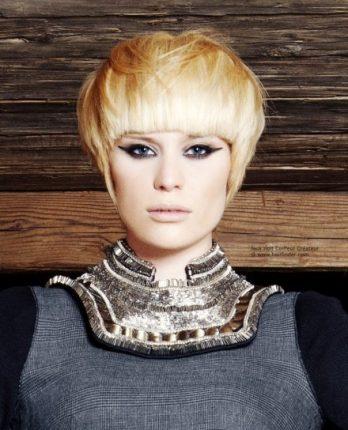 Taglio a scodella capelli donna 2015