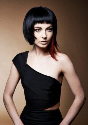 Taglio asimmetrico capelli donna 2015