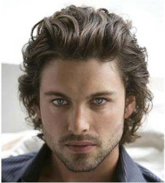 Taglio capelli lunghezza media uomo 2013