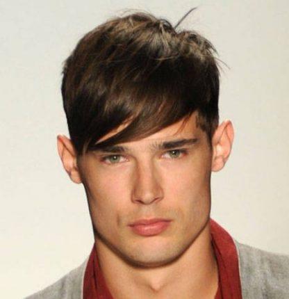 Taglio capelli uomo 2013 con ciuffo sulla fronte