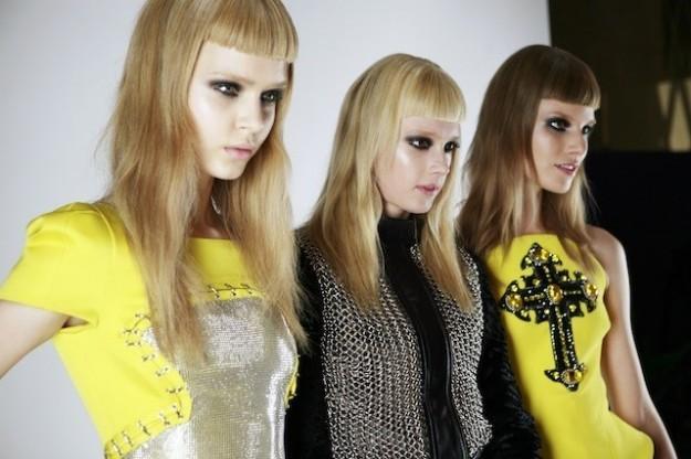 Taglio con frangia geometrica capelli donna 2015