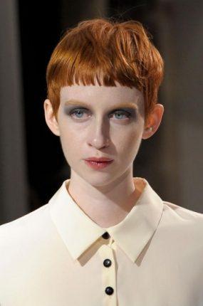 Taglio corto geometrico capelli donna 2015