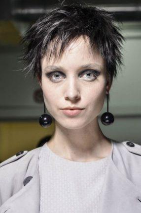 Taglio corto spettinato tagli capelli donna primavera estate 2015