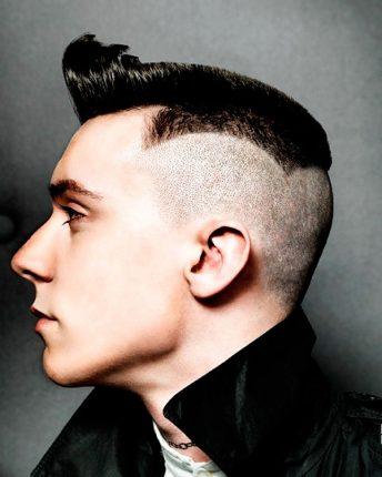 Taglio rasato particolare Tagli capelli 2015