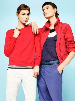 Top e giacca rossa Pennyblack primavera estate 2013