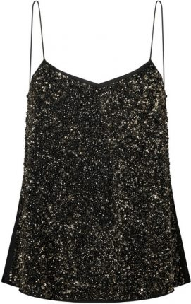 Top paillettes Mango