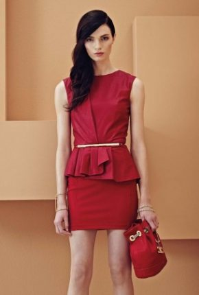 Top rosso Elisabetta Franchi primavera estate
