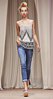 Top Twin Set jeans primavera estate 2016