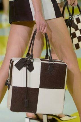 Tote a quadri Louis Vuitton primavera estate 2013