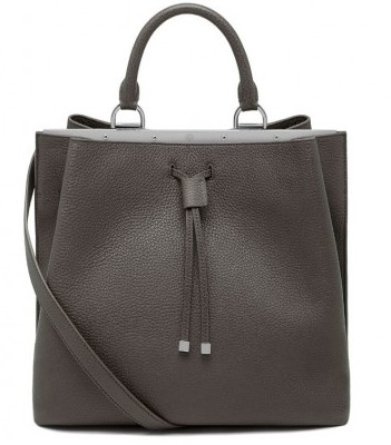 Tote bag grigia Mulberry