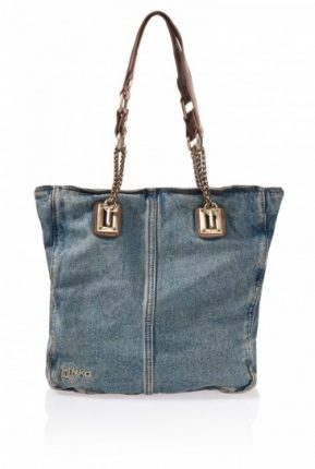 Tote denim Pinko primavera estate 2013