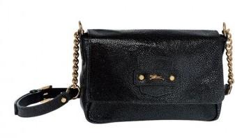 Tracolla Longchamp nera