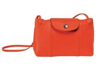 Tracolla Longchamp orange