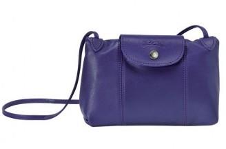 Tracolla Longchamp viola