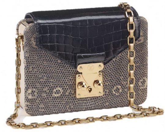 Tracolla Louis Vuitton in rettile
