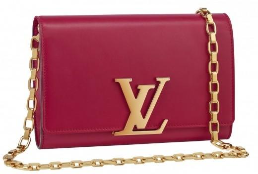 Tracolla rossa Louis Vuitton